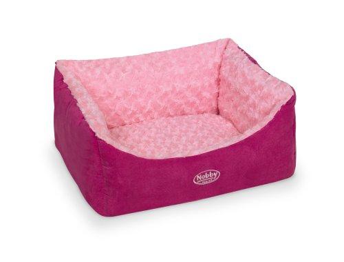 "Nobby 71480 Komfort Bett für Hunde Eckig ""Arusha"" 60 x 48 x 19 cm"