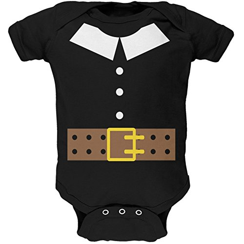 [Pilgrim Costume Baby One Piece - 9-12 months] (Baby Pilgrim Costumes)