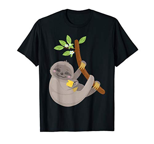 Sloth With Cheese on Face T Shirt Funny Mom Shock