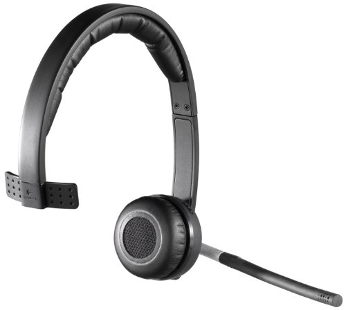 Logitech Wireless Headset H820e Single-Ear Mono Business Headset by Logitech (Image #1)