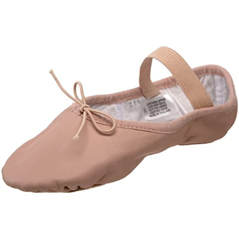 Bloch Dance Dansoft Split Sole Ballet Slipper - Little Kid (4-8 Years), 13.5 C US Little Kid
