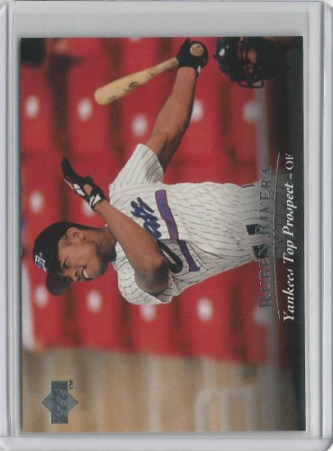 Upper Deck Top - 1995 Upper Deck Top Prospect Baseball Card # 8 - Ruben Rivera