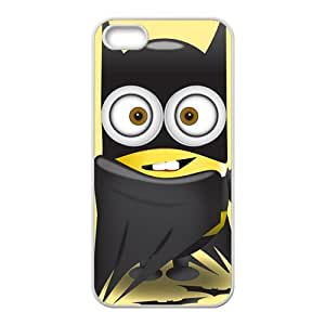 linJUN FENGLovely black cloth Minions Cell Phone Case for iPhone 5S