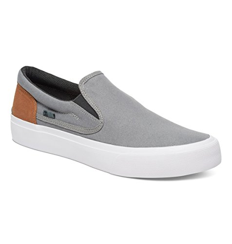 Brown Grey Black Trase Gris DC Zapatillas Hombre para Shoes U78Z6zq6w