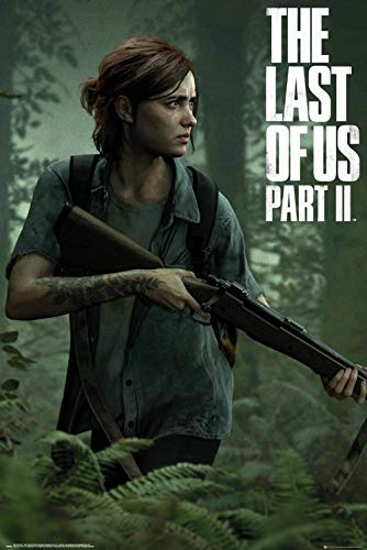 The Last of US 2 (Ellie) Video Game Poster (24 x 36 inches)