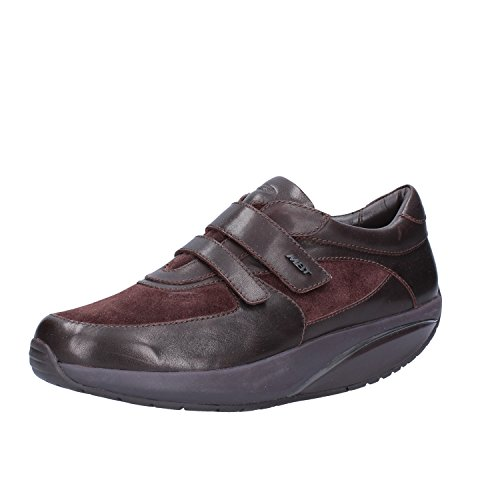 Cuero EU 37 MBT Gamuza Sneakers Marrón Mujer qUwgX4O
