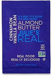 Julie's Real Almond Butter, Cacao Espresso - Certified Non-GMO, Gluten Free, Paleo, No Palm Oil, Peanut Fr