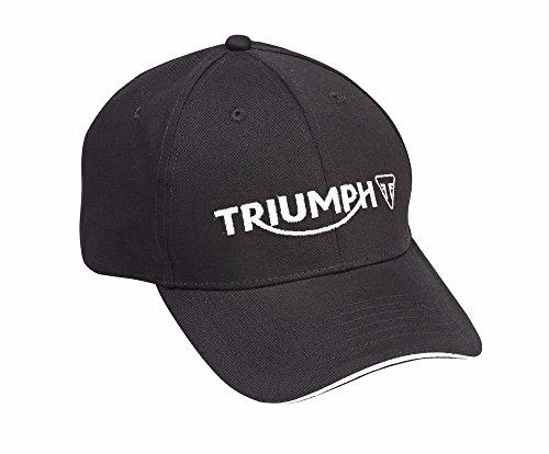 (Triumph Motorcycles Logo Cap Hat Black MCAS15308)