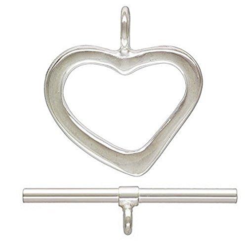 12mm Heart Clasps - 5