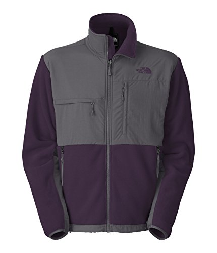 The North Face Men's Denali Jacket Eggplant Purple/Vanadis Grey (The North Face Denali Mens)