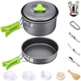 G4Free Camping Cookware Mess Kit 4/13 Piece