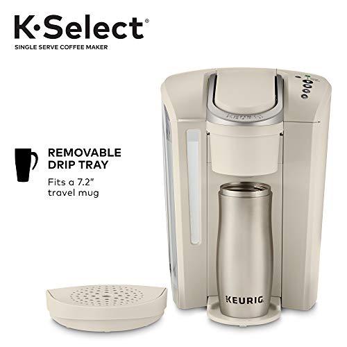 Keurig K-Select Single-Serve K-Cup Pod Coffee Maker, Sandstone by Keurig (Image #5)
