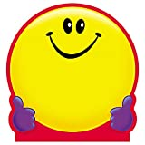 Trend Enterprises T-72013BN Smiley Face Note Pad-Shaped, 50 Sheets per Pad, Pack of 6