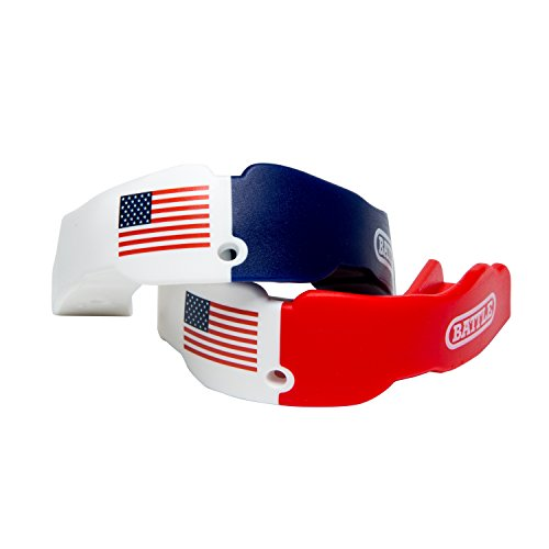Battle Adult American Flag 2-Color Mouthguard