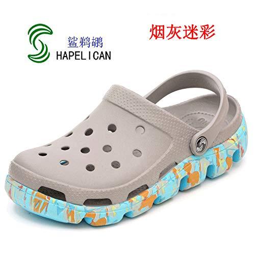 Antidérapantes Et Mesh Chaussons Pantoufles Plage Sandales De Llttklthj En 42 Gris Trou Légères Respirant Chaussures q1ZPO4