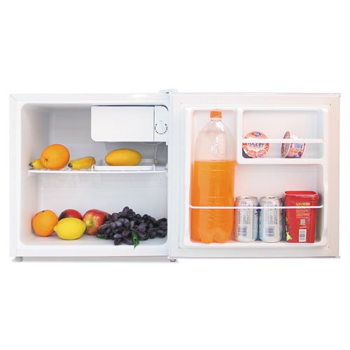 1.6 Cu. Ft. Refrigerator with Chiller Compartment, White, Sold as 1 Each