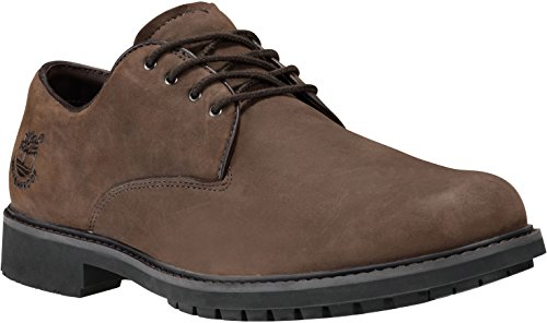 Timberland Men's Burnished Dark Brown Oil Earthkeepers Stormbuck Oxford 8.5 D(M) -
