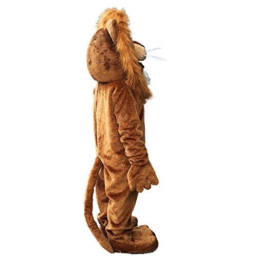 Lion Mascot Costume Cartoon Character Adult Sz Langteng(TM) by Langteng (Image #3)