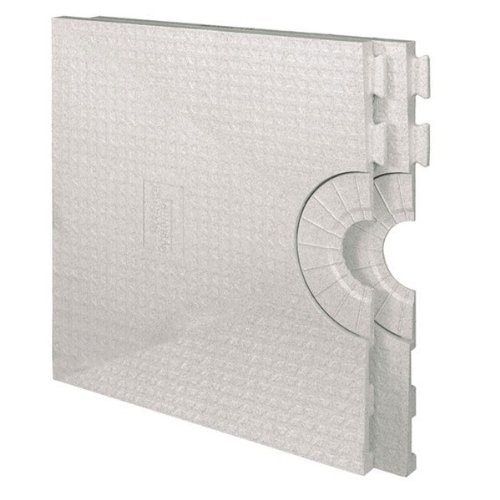 Kerdi Shower Tray 32''x60'' Center Drain Placement by Schluter Systems