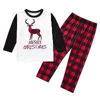 Taiduosheng Matching Family Christmas Pajamas Boys Girls Xmas Gift Merry Christmas Baby Clothes Men Women Xmas Pajama Set 4