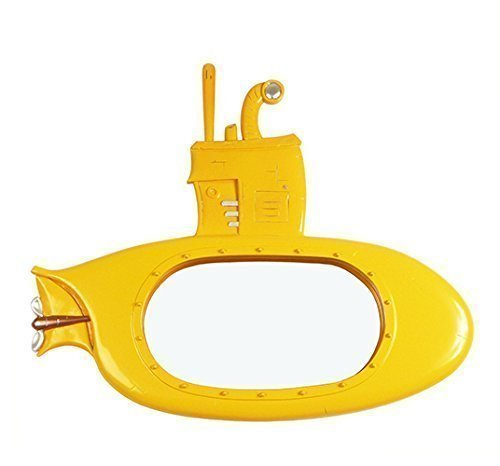 "Yellow Decorative Frame Wall Mirror (22"" x18"") - Yellow Submarine by Marvellous Mirrors"