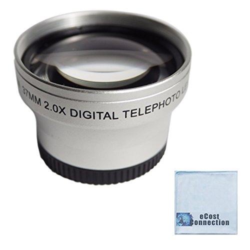 (37mm Titanium Telephoto Lens For Sony , Panasonic , Canon , JVC , Samsung , Nikon And Other)