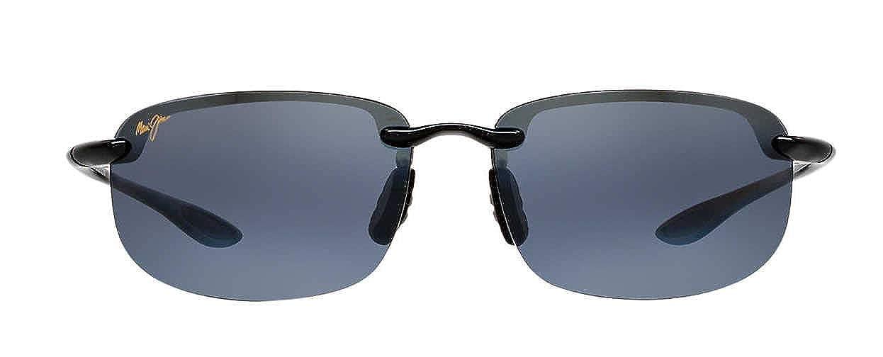 95c4e397233 Amazon.com: Maui Jim Ho'okipa Sunglasses (Gloss Black, Neutral Grey):  Clothing