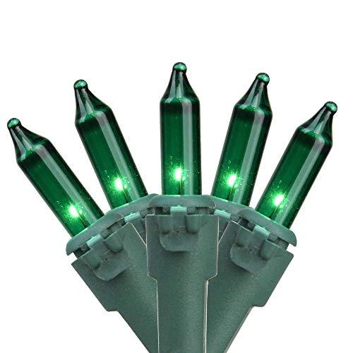 Northlight Set of 35 Green Mini Christmas Lights 2.5