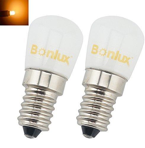 Bonlux E14 1.5W Bombilla LED para la Iluminación de Máquina de Coser, El Refrigerador