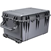 PELICAN 1660 Case - 42.34 gal - 23.0 Width x 19.5 Depth x 31.6 Length External Dimensions - Copolymer - Black - Military / 1660021110 /