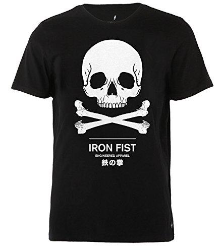 Iron Fist Clothing - Engineered Tee S / Black