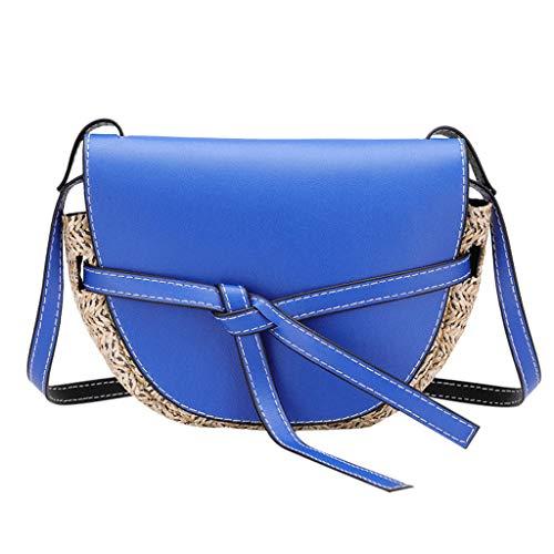 - ♛Shiretel Bag Women's Mobile Phone Bag Hit Color Bag Bow Shoulder Bag With Messenger Bag