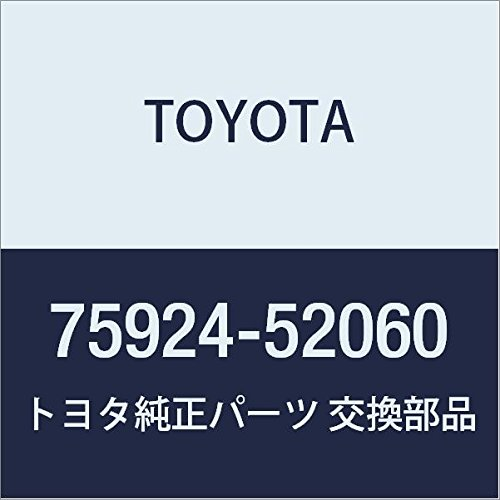 TOYOTA 75924-52060 Black Out Tape