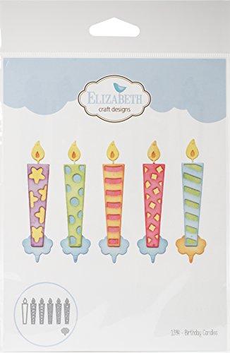 Elizabeth Candle - Elizabeth Craft Designs 1394 Elizabeth Craft Metal Die-Birthday Candles