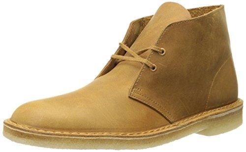 Leather Boot Mustard Clarks Mens Desert wUn1qfP8T