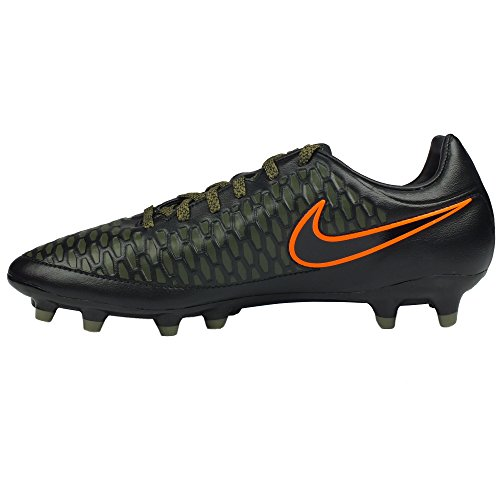 Nike Magista Onda FG Soccer Cleat (Black, Rough Green) (9.5 US Men)
