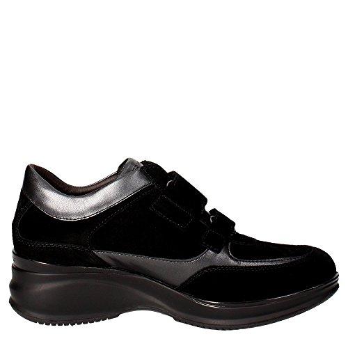 para Negro Color STONEFLY Zapatos para Modelo Cordones Mujer Marca 11 Mujer Travel Cordones Zapatos Negro Negro de STONEFLY De 16qXqE