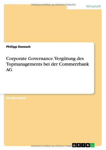 corporate-governance-vergutung-des-topmanagements-bei-der-commerzbank-ag-german-edition