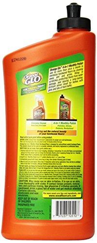 Orange Glo Hardwood Floor 4-in-1 Monthly Polish, 24 Oz (Pack of 2)