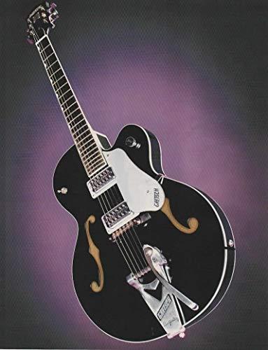 "Magazine Print ad: 2007 Gretsch Brian Setzer Hot Rod Electric Guitar G6120SHTV,""Built for Speed"""