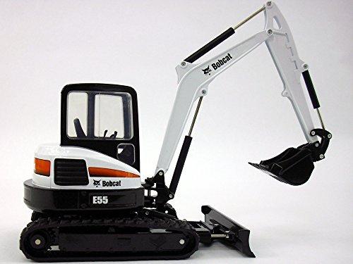Bobcat Excavators (Bobcat E55 Compact Excavator 1/25 Scale Die-cast Metal Model)