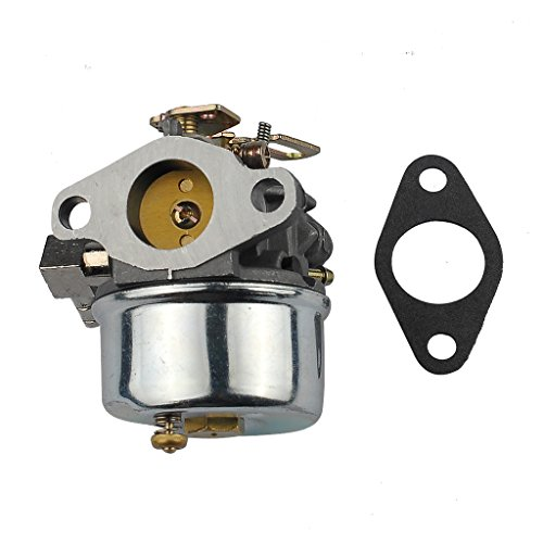 HIPA Carburetor # 640298 with Mounting Gasket for Tecumseh OH195SA OHSK70 Snow Blower 5.5hp 7hp Engine by HIPA