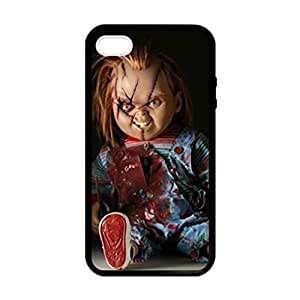 Charles Lee Ray Chucky Doll pattern Image 4 Case Cover Hard Plastic Case tive Iphone 4s / Iphone for Iphone 4 4sprotec