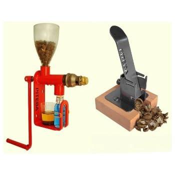 Piteba Oil Press & Nut Cracker Combo