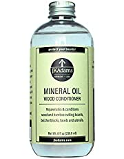 J.K. Adams 8-Ounce Mineral Oil Wood Conditioner, Clear