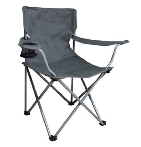 Camping Folding Arm Chair Is of Superb Strength and Comfort, for Pool Party Picnics Camping Beach Setting. This Ozark Folding Camp Chair Is Made From Durable Polyester Fabric Wrapped Around a Steel Frame for Long-lasting Comfort and Convenience.