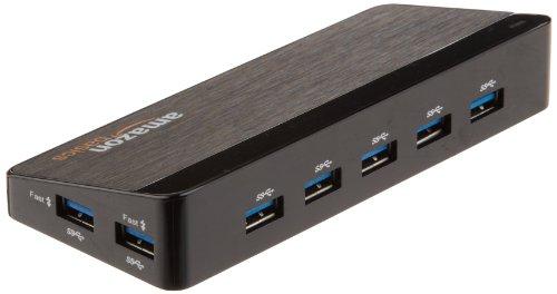AmazonBasics 7 Port USB 3.0 Hub with 12V/3A Power Adapter by AmazonBasics (Image #2)
