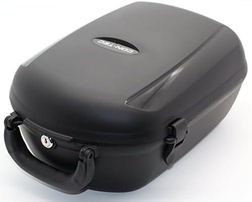 Contec Unisexvolwassenen Cargo Plus fietsbox zwart 13 liter