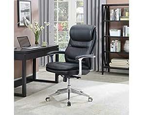 Amazon Com Beautyrest Black Executive Office Chair