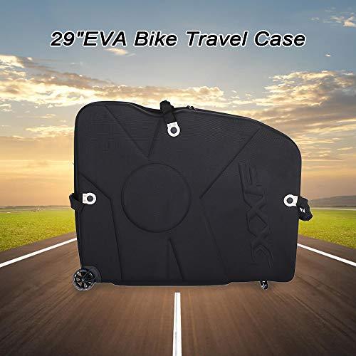 Road Bike MTB Case Bike Air Transport Case Bicycle Transportation Travel Hard 29 Inch EVA Bike Case with Wheels